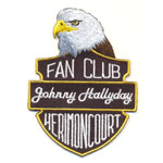 Ecusson  - Fan Club Johnny Herimoncourt