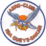 Ecusson  - Aero-club Dakar