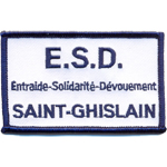 Badge Saint Ghislain