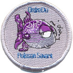 Badge Ordre du Poisson Savant