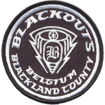 Badge Blackouts - Belgium Blackland