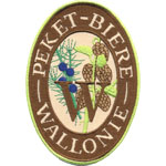 Badge Peket biere de Wallonie