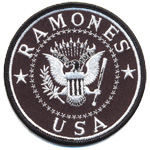Badge Ramones USA