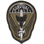 Badge Survival dark green
