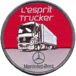 Badge esprit trucker