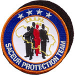 Badge saceur protection team