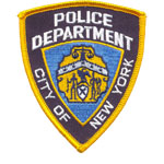 Badge police city of new york