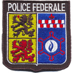 Badge police federale