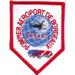Badge Pompiers Aeroport Bordeau