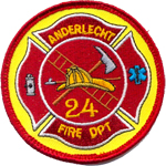 Badge Pompiers Anderlecht 2
