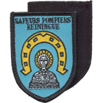 Badge Pompiers Reiningue