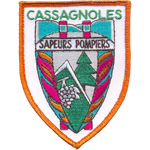Badge Sapeur Pompier cassagnole