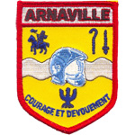 Badge Pompiers Arnaville