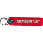 Badge Remove before flight