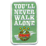 Badge you'll never walk alone
