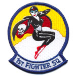 Badge 1st fighter sq