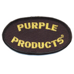 Badge purple products
