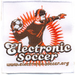 Badge Electronic soccer