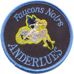 Badge Faucons Noirs Anderlues