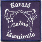 Badge Karate saone mamirolle