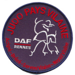 Badge DAF Rennes Judo