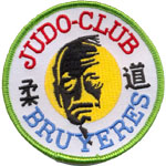 Badge Judo club Bruyere