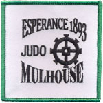 Badge Judo Mulhouze