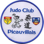Badge Judo club picauvillais