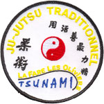 Badge ju jitsu club tsunami