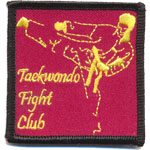 Badge Taekwondo fight club