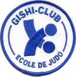 Badge Gishi Club Judo