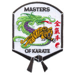 Badge Master of Karate