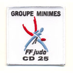 Badge Groupe Minime CD 25