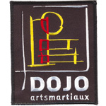 Badge Dojo Arts martiaux