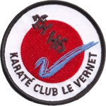 Badge Karaté club vernet