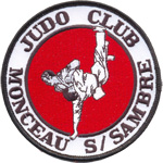 Badge judo Monceau