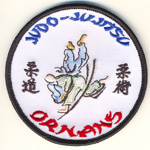 Badge Judo-jujitsu ornans