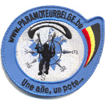 Badge Paramoteur Belge
