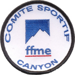 Badge FFME Canyon