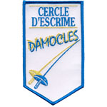 Badge escrime damocles