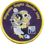 Badge Les pingouins Scaphs