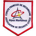 Badge Secourismes Alpes