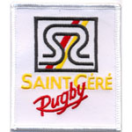 Badge Saint gere rugby