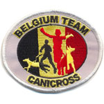 Badge Cani cross