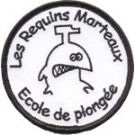 Badge Les Requins Marteaux