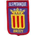 Badge US Petanque Briey