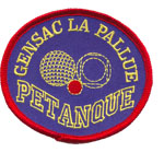 Badge Gensac Petanque