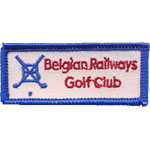 Badge Belgian Railways Golf Club