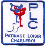 Badge Patinage Loisir Charleroi