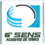 Badge academie tennis